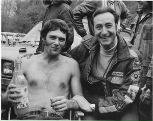 MX Spanish GP 250cc 19730408 Jim Pomeroy and OPB after winning the first moto.png