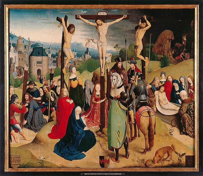 File:Maître de la Légende de sainte Ursule - Crucifixion avec Calvaire.jpg