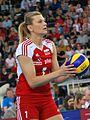 Małgorzata Glinka-Mogentale 03 - FIVB World Championship European Qualification Women Łódź January 2014.jpg