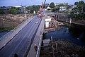 Maastricht, Bosscherweg, bouw brug ZW-vaart, 1983.jpg