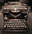 Macchina da scrivere remington n. 12, 1907-21 (mi, mnst leonardo da vinci).jpg