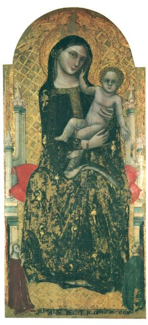 Vitale da Bologna - Madonna dei denti.