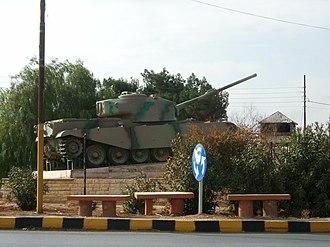 Mafraq - The Tank Circle in Mafraq