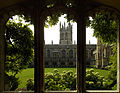 Magdalen College - cloister through a window.jpg