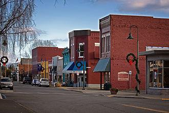 Buckley, Washington - Main St. Buckley, WA