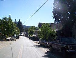 Main Street in Washington