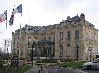 Épinay-sur-Seine - Image: Mairie de Épinay sur Seine
