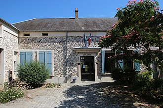 Boissy-le-Sec - The town hall of Boissy-le-Sec, in 2013