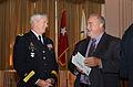 Major Gen. Walsh talks with Richard Johnson (9263412730).jpg