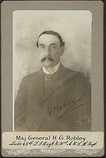 Horatio Gordon Robley soldier, artist, collector