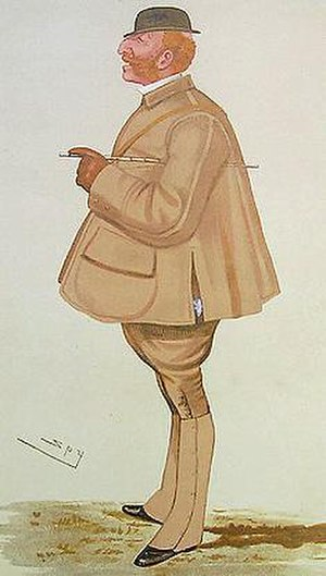 Lord Henry Arthur George Somerset - An 1887 caricature of Lord Arthur Somerset