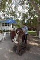 Making sugar cane drinks at the restaurant at the Ernest Hemingway home in Havana, Cuba LCCN2010638882.tif