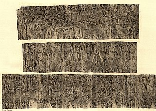 Maktar and Mididi inscriptions