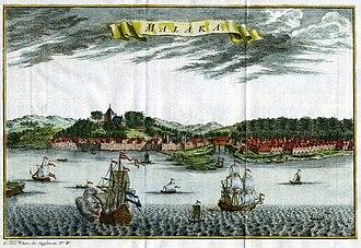 Malacca - Dutch Malacca, c. 1750
