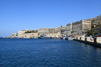 Maritime Squadron of the Armed Forces of Malta - The AFM base at Hay Wharf.