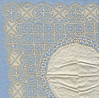 type of bobbin lace from Malta; especially a silk guipure of the 19th century