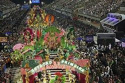 Samba Dancers Parade - Rio Carnaval