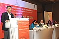Manish Tewari addressing at the closing ceremony of the National Consultation on Women and Media, organised by the High Level Committee on Status of Women, in New Delhi on February 05, 2014 (1).jpg