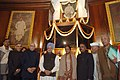Manmohan Singh, the Speaker, Lok Sabha, Smt. Meira Kumar, the Union Minister for Parliamentary Affairs and Water Resources, Shri Pawan Kumar Bansal, the Leader of Opposition in Lok Sabha.jpg