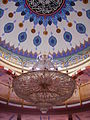 Mannheim Yavuz-Sultan-Selim-Moschee Innen Leuchter 1.jpg