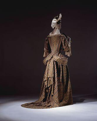 Mantua (clothing) - Image: Mantua MET DT11789