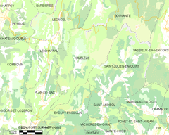 Map commune FR insee code 26221.png
