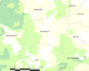 Map commune FR insee code 58014.png