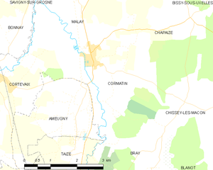 Map commune FR insee code 71145.png