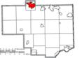 Map of Columbiana County Ohio Highlighting Salem City.png