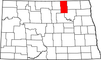 Map of North Dakota highlighting Towner County.svg