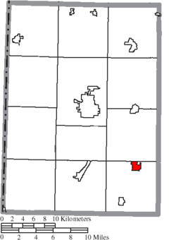Location of Gratis in Preble County