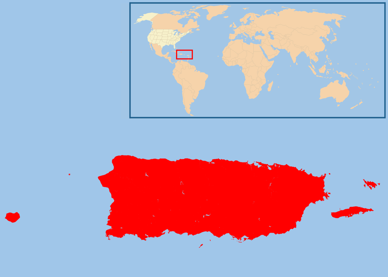 FileMap Of USA PRpng Wikimedia Commons - Us map with puerto rico