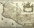 Mapa de la zona occidental del Virreinato, atlas de Janssonio y Blaew (siglo XVI).jpg