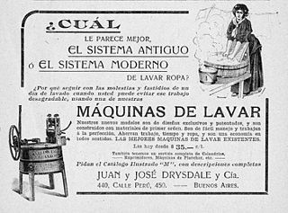 An 1876 advertisement published in Argentina.