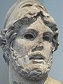 Marble head of a Greek General Roman Imperial Period 1st-2nd century CE copy of 4th century BCE Greek original (1485664721).jpg