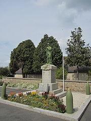 Marcey-les-Grèves - Monument aux Morts.JPG