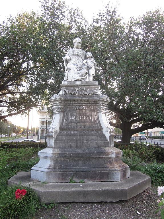 new orleans statue beloved margaret irish