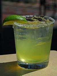 Mexico Margarita - Coctel hecho con tequila..