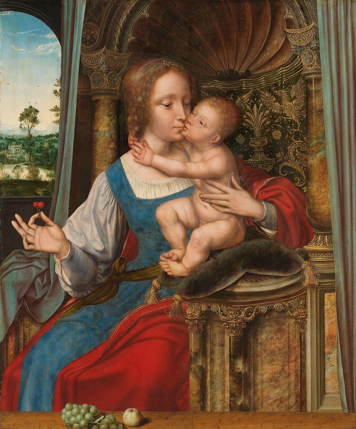 Madonna and Child Kissing - Wikipedia