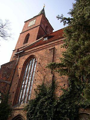 Bernau bei Berlin - Image: Marienkirche Bernau bei Berlin