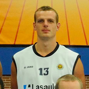 Mark-Peter Hof - Hof with Aris Leeuwarden in 2011