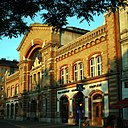 Market hall in Budapest, I. district.JPG