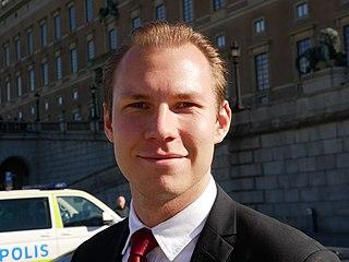 Markus Wiechel Swedish politician