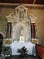 Marolles-les-Braults (Sarthe) église, chapelle sud, retable de saint Sébastien.jpg