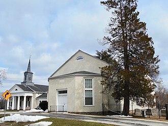 Marple Township, Delaware County, Pennsylvania - Marple Presbyterian Church, built 1834-1835, oldest church in the township