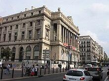 La Canebière e il Palazzo della Borsa
