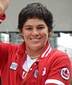 Martine Dugrenier Olympic Heroes Parade (cropped).jpg