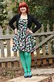 Martini Novelty Print Retro Dress with Light Green Tights, a Black Cardigan, and Purple Heels (16868912192).jpg
