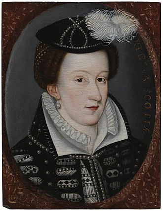 Portrait from the latter half of the sixteenth century Mary Queen of Scots portrait.jpg