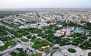 Mexed: Mashhad City in the morning